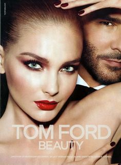 Charlotte Tilbury, Snejana Onopka by Mert and Marcus for Tom Ford Beauty Fall Stylist Katie Grand. Tom Ford Beauty, Beauty Ad, Beauty Makeup, Beauty Hacks, Dior Beauty, Makeup Style, Tom Ford Makeup, Makeup Ads, Eye Makeup