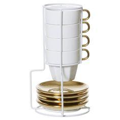 9-teiliges Espressotassen-Set 'Americano'