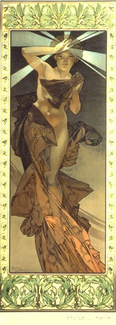 Morning Star, Alphonse Mucha
