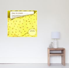 'Cheesy News: Have Something to Tell?' Poster by We ~ Ivy Art Prints For Home, Art Prints Quotes, To Tell, Art Boards, Ivy, My Design, Stationery, Told You So, Framed Prints