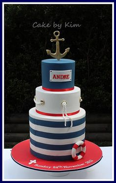 nautical cake | Flickr - Photo Sharing!