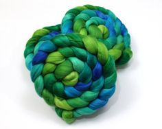 Australian Merino Wool Roving Combed Top 15.5 by woolgatherings