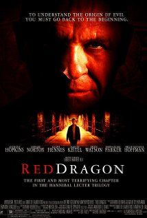 """Red Dragon (2002) - A retired FBI agent with psychological gifts is assigned to help track down """"The Tooth Fairy"""", a mysterious serial killer; aiding him is imprisoned criminal genius Hannibal """"The Cannibal"""" Lecter."""