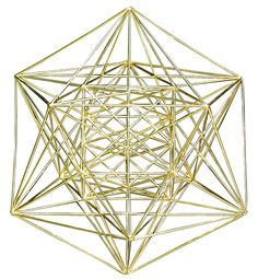 Metatron's Cube - Look this up on wiki for further explanation.