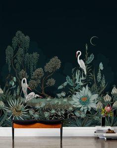Night Heron Mural