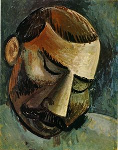 Pablo Picasso - Head of a man