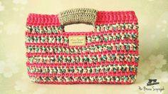 Bolsa de Crochê com Malha | Coleção Sunshine 2014. Por Bruna Szpisjak. Mais informações: brunacrochetdesigner.com