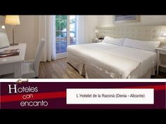 L´HOTELET DE LA RACONÁ (DENIA - ALICANTE) - HOTELES CON ENCANTO - YouTube Alicante, Bed, Youtube, Furniture, Home Decor, Hotels, Restaurants, Stream Bed, Interior Design