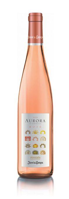 Aurora Rosé #vino #wine #packaging #naming