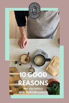 10 reasons why you should make your own candles Scandinavian Candles, Homemade Soy Candles, Finding A New Hobby, Decorative Candles, Candle Making Business, Candle Making Supplies, Learn A New Skill, Candlemaking, New Hobbies