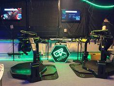 We went gaming at a VR arcade in Hong Kong