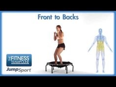 ▶ JumpSport Fitness Trampoline Workouts - Front to Backs - YouTube