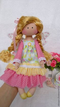 ''Solar Fantasy''. by O.Smolskaya.....(such sweet pastel colors for a sweet doll! LOVE her!!).....