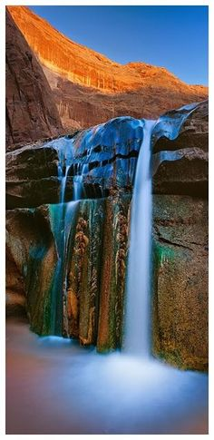 Inspiration For Landscape photography Picture Description Gates of Eden - Coyote Gulch, Escalante, Utah. Photo by Andrew Morrill Places Around The World, Oh The Places You'll Go, Places To Travel, Places To Visit, Around The Worlds, All Nature, Amazing Nature, Beautiful Waterfalls, Beautiful Landscapes