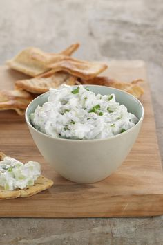 Cucumber Feta Dip   *2 c Chobani Non-Fat Plain Greek Yogurt  *1 cucumber, peeled, halved, seeded, finely chopped, squeezed dry in paper towels  *1 c crumbled feta cheese  * 2 garlic cloves, minced  *1 t dried oregano  *2 T minced onion      *1 T fresh lemon juice