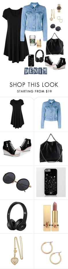 """""""Untitled #177"""" by ysendjaja ❤ liked on Polyvore featuring Acne Studios, STELLA McCARTNEY, Yves Saint Laurent, Nordstrom and Marc Jacobs"""
