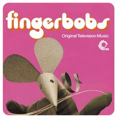 fingerbobs - beautiful design for trunk records' issue of music from the vintage children's tv series