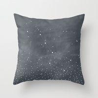 Throw Pillows featuring Ursa Major by BELLES & GHOSTS