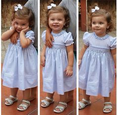 Leonela Sofia is looking absolutely adorable in her Feltman Brothers rose garden dress! It makes a wonderful holiday dress for your little girl! Available in blue, pink and white in sizes 3m-4t!  http://www.feltmanbrothers.com/