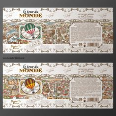 Le Tour De Monde on Packaging of the World - Creative Package Design Gallery