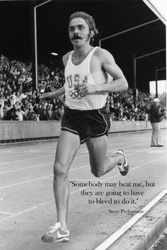 One of the most famous runners ever.