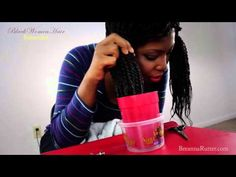 How To Do Senegalese Twist Ends | Sealing Your Ends | Tutorial Series Part 5 http://www.howtoblackhair.com