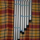 Homemade well-tuned pan flute - good homemade musical instrument activity for older kids