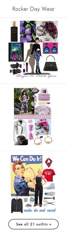 """""""Rocker Day Wear"""" by ggaileen ❤ liked on Polyvore featuring Robert Piguet, Gucci, Pinup Couture, Acne Studios, Leka, Stoney Clover Lane, Axiology, Viseart, Miss Selfridge and Fear of God"""