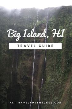 Visit Big Island, Hawaii. Things to do, places to eat, and places to drink (hikes included) #VisitHawaii
