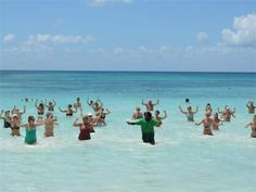 Water aerobics in the Caribbean Sea? Water aerobics is a daily activity at Dreams La Romana Resort & Spa! Ask the concierge for details! Vacation Resorts, Beach Resorts, Dreams Resorts, Water Aerobics, Spa Offers, Us Beaches, Caribbean Sea, Resort Spa, Family Travel