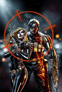 Black Widow & The Winter Soldier by Lee Bermejo  I don't ship,but they look cool
