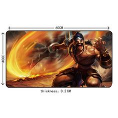 Large Gaming Mouse Pad Gamer Locking Edge Mouse Keyboards Mat Grande Mousepad for CS GO Dota 2 LOL league of legends Draven Memes League Of Legends, Draven League Of Legends, League Of Legends Characters, E Sports, Riot Games, News Games, Video Games, Draven Skins, Adc Wallpaper