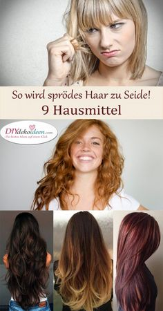 brittle hair turns into silk! Home remedies for soft hair. So brittle hair turns into silk! Home remedies for soft hair. - -So brittle hair turns into silk! Home remedies for soft hair. Curly Hair Care, Curly Hair Styles, Natural Hair Styles, Frizzy Hair, Brittle Hair, Soft Hair, Light Hair, Bad Hair, Easy Hairstyles