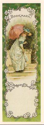 victorian bookmarks | Victorian Bookmarks - Marcapáginas Victorianos
