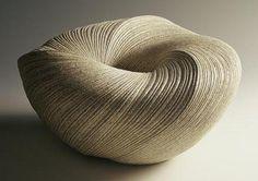 Textured ceramic art