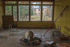 Abandoned children's camp «Youth» in Moscow, Russia / Заброшенный детский лагерь «Юность»