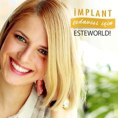 Sağlıklı Dişler, Mutlu Gülüşler! İmplant tedavisiyle ilgili bilgi ve randevu için: http://bit.ly/DisEstetigi  #dişestetiği #diş #dişestetiği
