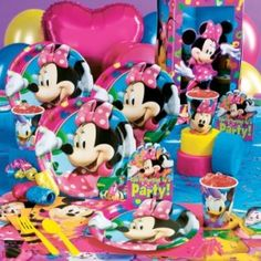 carousel+birthday+decorations | images of images of minnie mouse birthday party kids parties wallpaper ...
