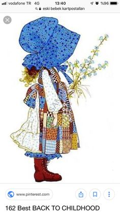 Sweet memories of my Aunt Shirley who loved Holly Hobbie. Hobbies To Try, Hobbies For Women, Holly Hobbie, My Childhood Memories, Sweet Memories, Sarah Kay Imagenes, Finding A Hobby, Hobby Room, Hobby Lobby