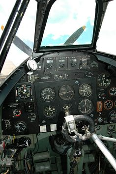 Spitfire cockpit | Flickr - Photo Sharing!