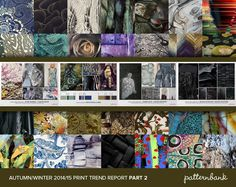 The Indispensable Autumn/Winter 2014/15 Print Trend Report Collection   3 x PDF Bundle trend forecasts