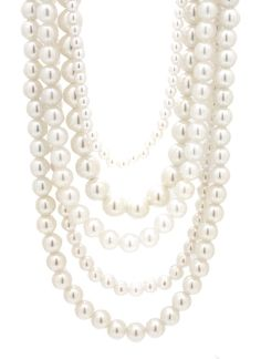 layered pearl necklace set $13.30 fake thats okay every girl should have some pearls