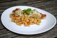 Experimente aus meiner Küche: Geflügelröllchen mit Reis