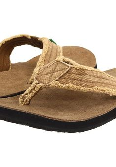 Sanuk Fraid Not (Khaki) Men's Sandals - Sanuk, Fraid Not, SMS2117, Men's Casual Sandals Sandals, Thongs/Flip-Flops, Casual Sandal, Open Footwear, Footwear, Shoes, Gift - Outfit Ideas And Street Style 2017