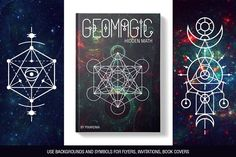 100 Sacred Geometry Symbols by pixaroma on @creativemarket