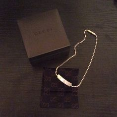 Gucci Women's Choker-Authentic Stylish designer choker. Sterling silver. Score at this price. Gucci Jewelry Necklaces