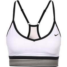 New Nike Pro Indy Cool Bra ($53) ❤ liked on Polyvore featuring activewear,