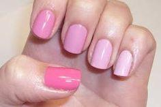 pastel pinks.