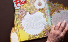 Flair Magazine / B2B mailing by AVSD01, via Behance