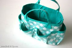 Make a Duct Tape Craft Bag this bag is for dolls but it wouldn't be hard to make it bigger for us real people:)